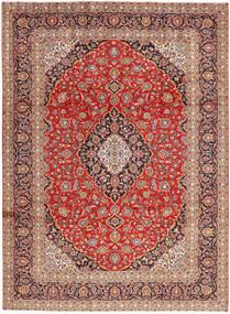 Keshan Matto 250X340 Itämainen Käsinsolmittu Vaaleanruskea/Ruoste Isot (Villa, Persia/Iran)