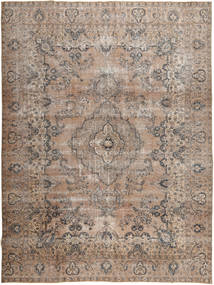 Colored Vintage Tapis 284X382 Moderne Fait Main Gris Clair/Marron Grand (Laine, Pakistan)