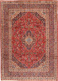Keshan Rug 247X347 Authentic  Oriental Handknotted Dark Red/Rust Red (Wool, Persia/Iran)