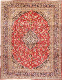 Keshan Signature : Kashan Ghotbi Rug 303X400 Authentic  Oriental Handknotted Rust Red/Dark Red Large (Wool, Persia/Iran)
