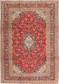 Keshan Matto 246X350 Itämainen Käsinsolmittu Tummanpunainen/Ruoste (Villa, Persia/Iran)