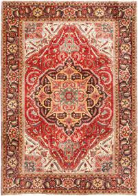 Heriz Tappeto 232X330 Orientale Fatto A Mano Ruggine/Rosso/Marrone Scuro (Lana, Persia/Iran)
