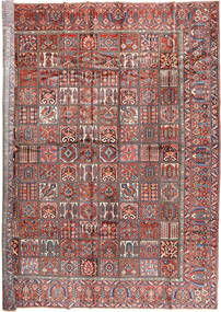 Bakhtiari Rug 402X472 Authentic  Oriental Handknotted Rust Red/Dark Brown Large (Wool, Persia/Iran)