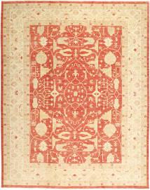 Ziegler Matta 310X395 Äkta Orientalisk Handknuten Beige/Mörkbeige/Orange Stor (Ull, Pakistan)