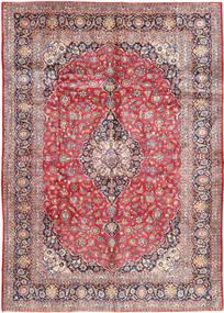 Keshan Teppe 300X433 Ekte Orientalsk Håndknyttet Lysbrun/Lys Grå Stort (Ull, Persia/Iran)