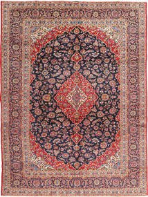 Keshan Signature : Kashan Ghotbi Rug 295X395 Authentic  Oriental Handknotted Rust Red/Dark Purple Large (Wool, Persia/Iran)