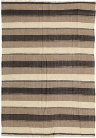 Kilim Rug 175X255 Authentic  Oriental Handwoven Light Grey/Beige/Dark Grey (Wool, Persia/Iran)