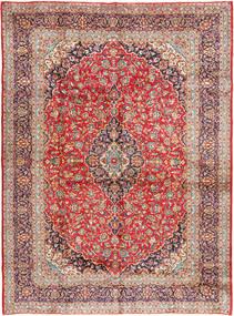 Keshan Matta 305X420 Äkta Orientalisk Handknuten Roströd/Brun Stor (Ull, Persien/Iran)