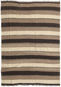 Kilim Rug 172X240 Authentic  Oriental Handwoven Dark Grey/Light Grey/Beige (Wool, Persia/Iran)