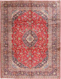 Keshan Signature : Kashan Ghotbi Matta 294X388 Äkta Orientalisk Handknuten Lila/Ljusbrun Stor (Ull, Persien/Iran)