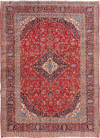 Keshan Matta 253X354 Äkta Orientalisk Handknuten Roströd/Mörkröd Stor (Ull, Persien/Iran)