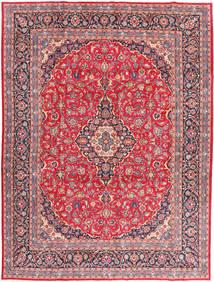 Kashan Tapis 295X393 D'orient Fait Main Rose/Rose Clair Grand (Laine, Perse/Iran)