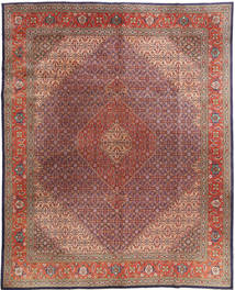 Tabriz Mahi Rug 300X376 Authentic  Oriental Handknotted Light Brown/Brown Large ( India)