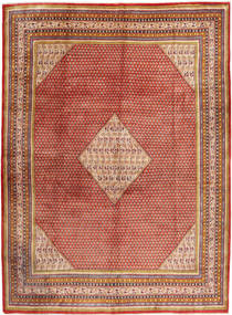 Sarouk Mir Rug 291X393 Authentic  Oriental Handknotted Dark Red/Brown Large (Wool, Persia/Iran)