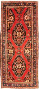 Ardabil Dywan 132X294 Orientalny Tkany Ręcznie Chodnik Czerwony/Ciemnoszary (Wełna, Persja/Iran)