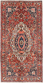 バクティアリ 絨毯 150X315 オリエンタル 手織り 濃い茶色/茶 (ウール, ペルシャ/イラン)