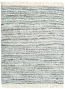 Medium Drop - Blue Mix Rug 190X240 Authentic  Modern Handwoven Light Grey/Beige (Wool, India)