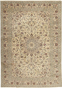 Keshan Rug 285X408 Authentic  Oriental Handknotted Beige/Light Brown/Light Grey Large (Wool, Persia/Iran)