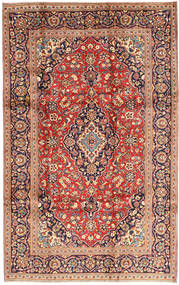 Keshan Matto 195X310 Itämainen Käsinsolmittu Vaaleanruskea/Ruskea (Villa, Persia/Iran)