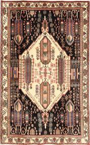 Afshar/Sirjan Matta 170X278 Äkta Orientalisk Handknuten Mörkbrun/Ljusbrun (Ull, Persien/Iran)