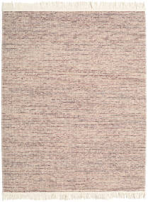 Medium Drop - Brown/Rose Mix Rug 190X240 Authentic  Modern Handwoven Beige/Light Brown (Wool, India)