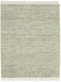 Medium Drop - Green Mix Rug 190X240 Authentic  Modern Handwoven Light Green/Dark Beige/Beige (Wool, India)