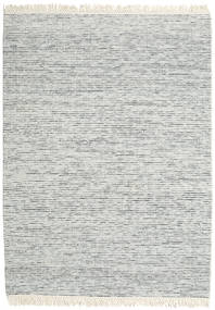 Medium Drop - Grey Mix Rug 210X290 Authentic  Modern Handwoven Light Grey/White/Creme (Wool, India)