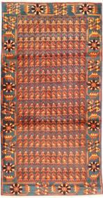 Arak Teppe 103X206 Ekte Orientalsk Håndknyttet Orange/Lysbrun (Ull, Persia/Iran)
