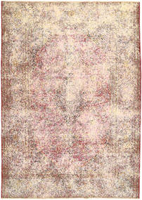Colored Vintage Rug 233X330 Authentic  Modern Handknotted Light Pink/Beige/Light Brown (Wool, Persia/Iran)
