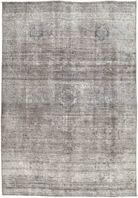 Colored Vintage Rug 187X267 Authentic  Modern Handknotted Light Grey/Dark Grey (Wool, Persia/Iran)