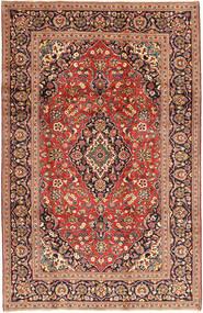 Keshan Rug 198X310 Authentic  Oriental Handknotted Brown/Rust Red (Wool, Persia/Iran)