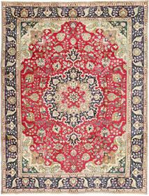 タブリーズ 絨毯 245X337 オリエンタル 手織り 錆色/濃いグレー (ウール, ペルシャ/イラン)