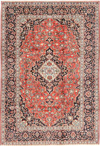 Keshan Matto 202X300 Itämainen Käsinsolmittu Vaaleanruskea/Tummansininen (Villa, Persia/Iran)