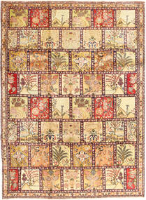 Tabriz Rug 233X320 Authentic  Oriental Handknotted Light Brown/Beige (Wool, Persia/Iran)