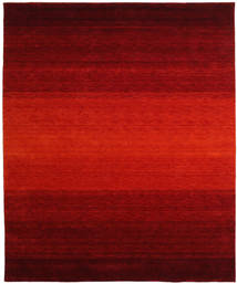 Gabbeh Rainbow - Red Rug 240X300 Modern Rust Red/Dark Red/Dark Brown (Wool, India)