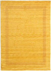Handloom Gabba - Gull Teppe 210X290 Moderne Gul/Orange (Ull, India)