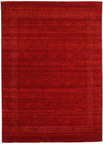 Handloom Gabba - Red Rug 210X290 Modern Dark Red/Rust Red (Wool, India)