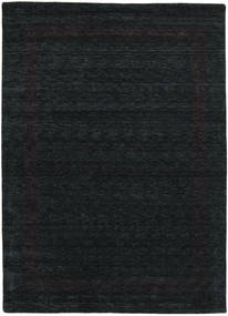 Handloom Gabba - Black/Grey Rug 240X340 Modern Black (Wool, India)