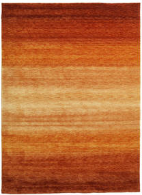 Gabbeh Rainbow - Rust Rug 210X290 Modern Orange/Light Brown (Wool, India)