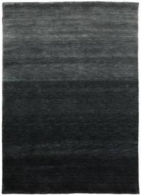 Gabbeh Up To Down Tappeto 160X230 Moderno Nero/Verde Scuro (Lana, India)