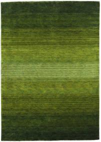 Gabbeh Rainbow - Grün Teppich  160X230 Moderner Dunkelgrün/Olivgrün (Wolle, Indien)