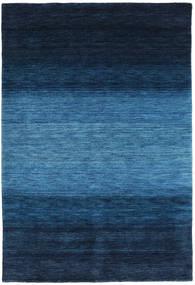 Gabbeh Rainbow - Blu Tappeto 160X230 Moderno Blu Scuro/Blu (Lana, India)