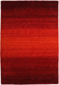Gabbeh Rainbow - Red Rug 160X230 Modern Dark Red/Rust Red (Wool, India)