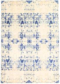 Roma Moderni Collection Matto 171X242 Moderni Käsinsolmittu Beige/Vaaleanpunainen ( Intia)