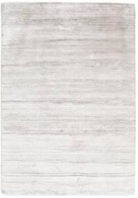 Alfombra Bambú de seda Loom Shiny Claro Gris ORD105