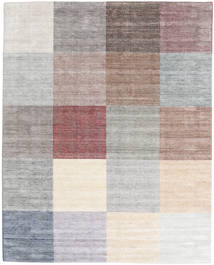 Malva - Light/Multi Rug 200X250 Authentic  Modern Handknotted Light Grey/Beige (Wool/Bamboo Silk, India)