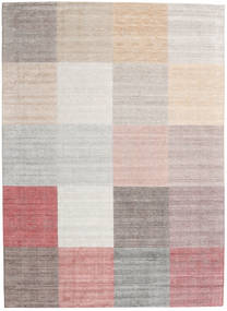 Malva - Rust Rug 270X370 Authentic  Modern Handknotted White/Creme/Light Grey Large (Wool/Bamboo Silk, India)