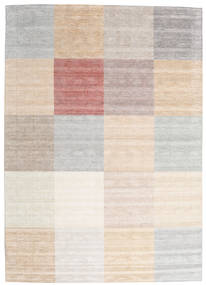 Malva - Beige Rug 250X350 Authentic  Modern Handknotted Light Grey/Beige Large (Wool/Bamboo Silk, India)