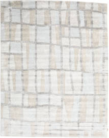 Nepal Original Rug 261X332 Authentic  Modern Handknotted Beige/Light Grey Large (Wool/Bamboo Silk, Nepal/Tibet)