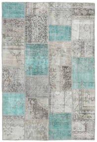 Patchwork Rug 156X232 Authentic  Modern Handknotted Light Grey/Beige (Wool, Turkey)